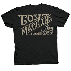 Toy Machine Joes Style Men's T-Shirt - Black