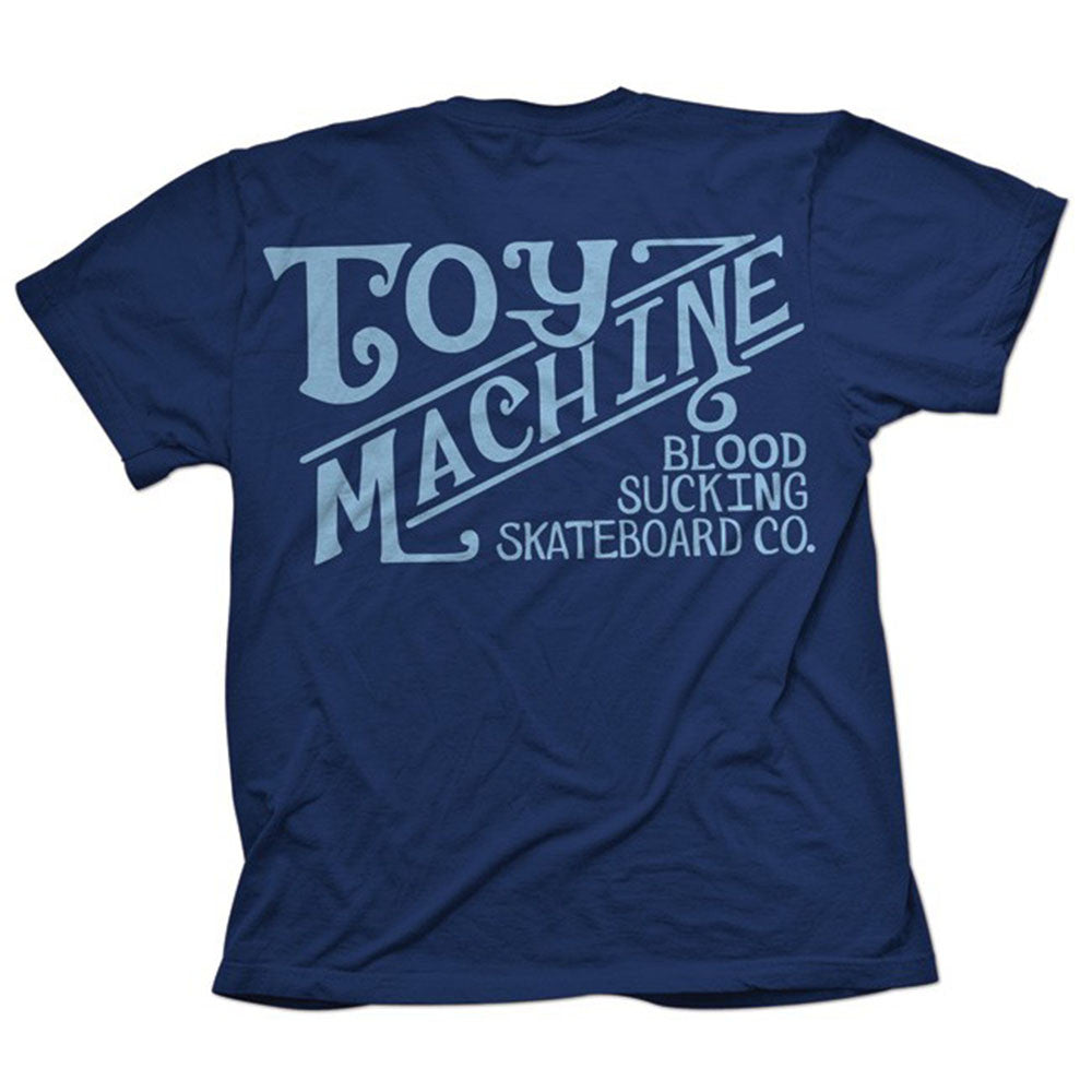 Toy Machine Joes Style Men's T-Shirt - Navy