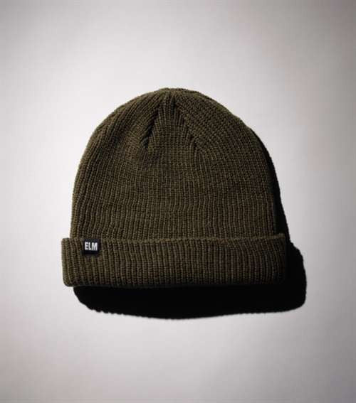 Elm Company The Standard Men's Beanie - Olive