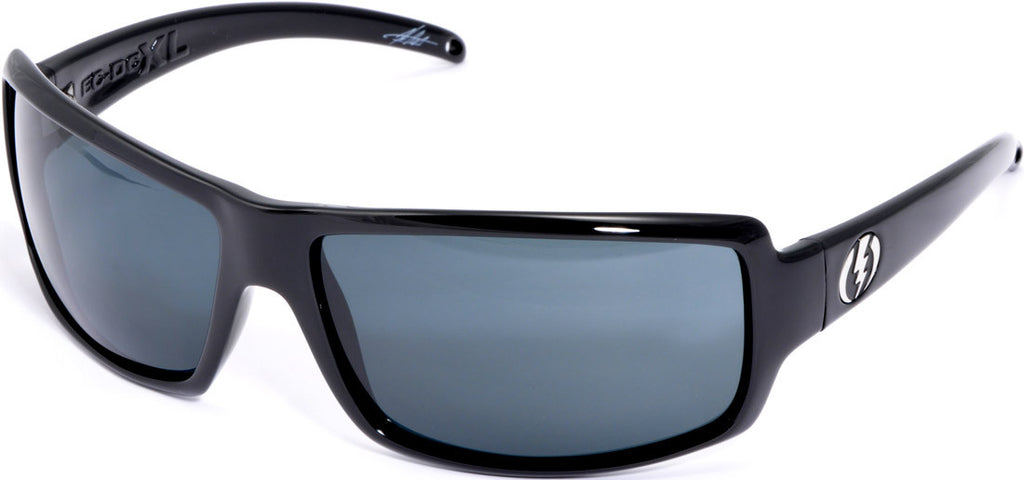 Electric Visual EC/DC XL Mens Sunglasses- Black