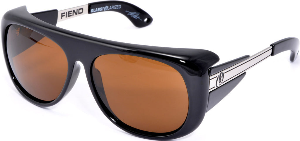 Electric Visual Fiend Mens Sunglasses - Black
