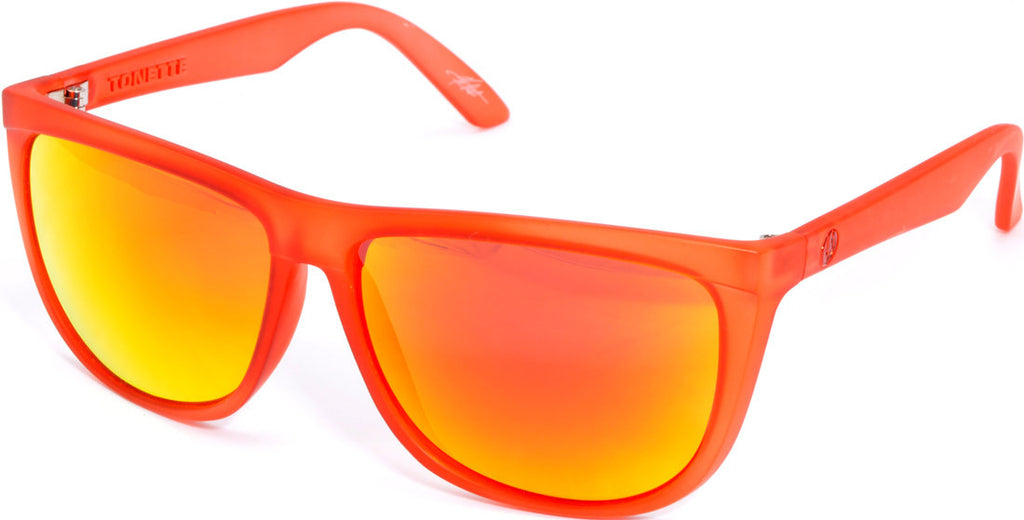 Electric Visual Tonette Mens Sunglasses - Red