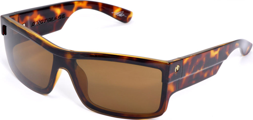 Electric Visual Shotglass Mens Sunglasses - Animal Print