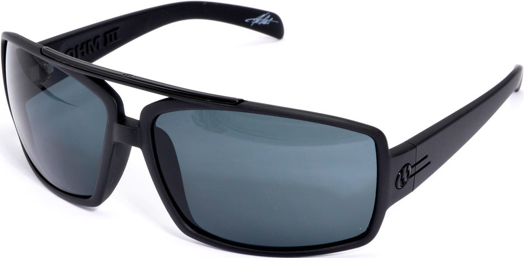Electric Visual OHM III Mens Sunglasses - Black
