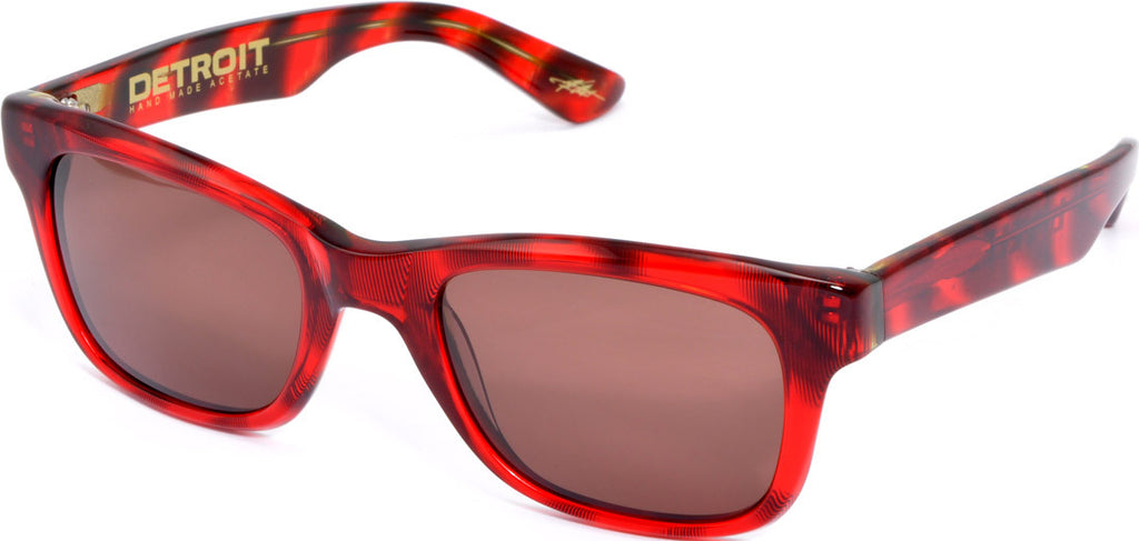 Electric Visual Detroit Mens Sunglasses - Red