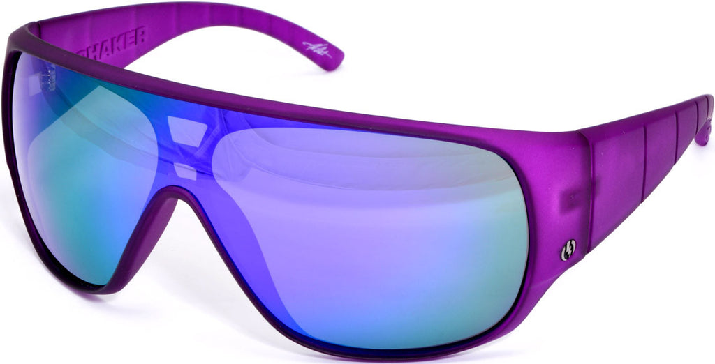 Electric Visual Shaker Mens Sunglasses - Purple