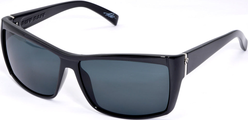 Electric Visual Riff Raff Mens Sunglasses - Black