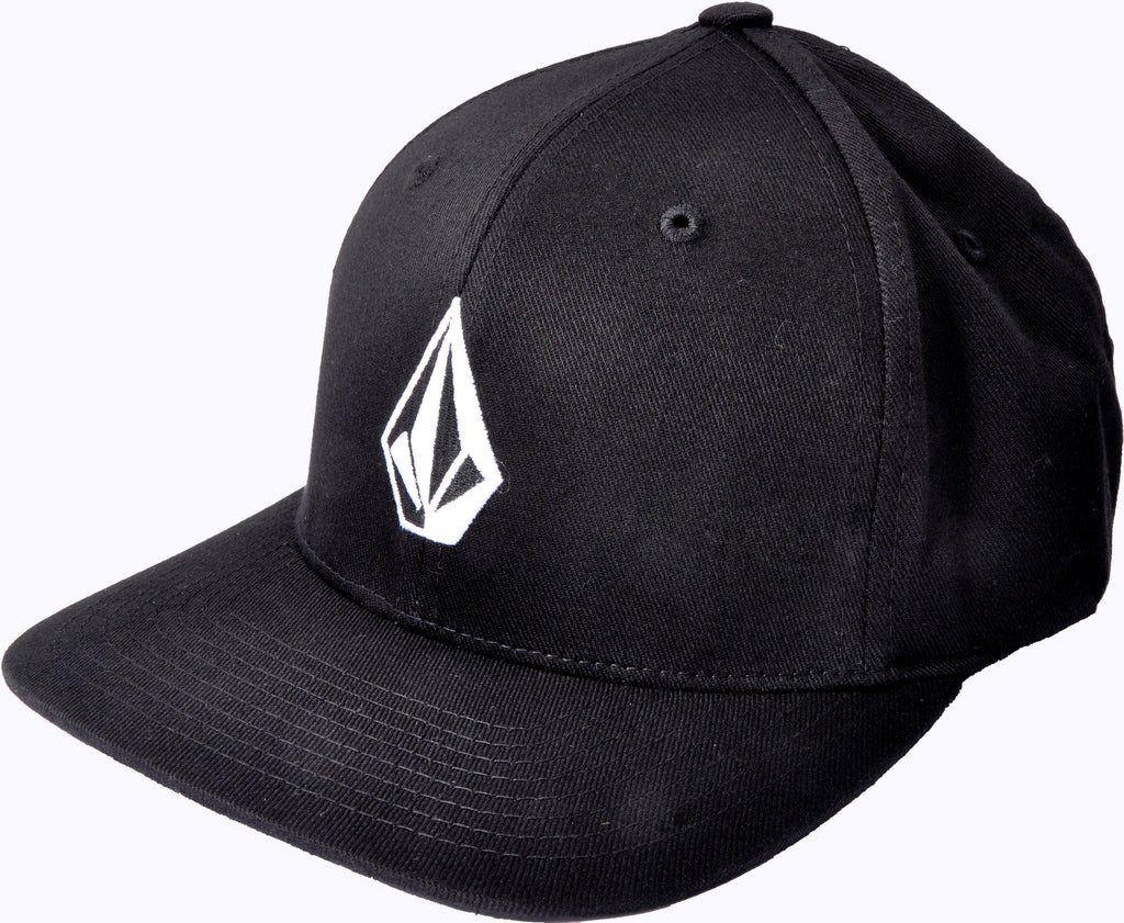 Volcom Full Stone XFit Hat - Black - Mens Hat