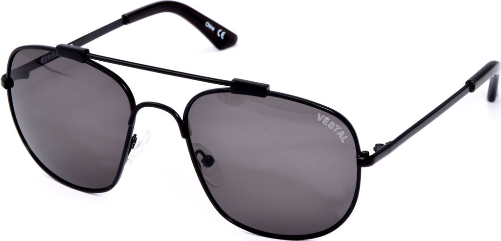 Vestal Bombardier Mens Sunglasses - Black