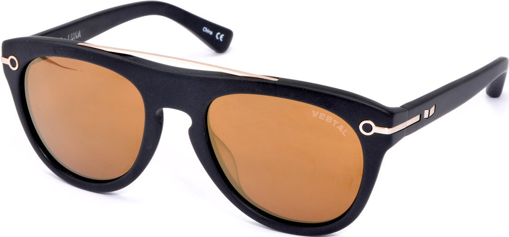Vestal De Luna Sunglasses - Black/Gold