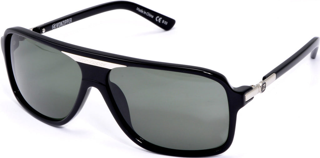 Von Zipper Stache Mens Sunglasses - Black