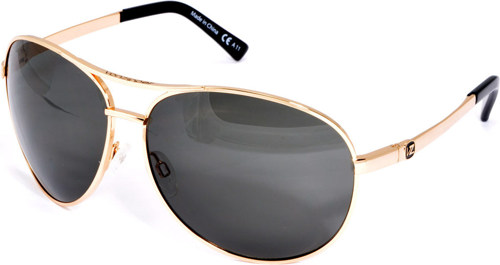Von Zipper Bunker Mens Sunglasses - Gold