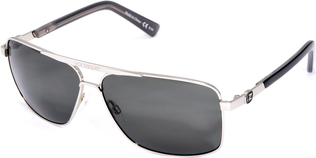 Von Zipper Stache Mens Sunglasses - Silver