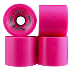 Abec 11 Centrax - Pink - 83mm 77a - Skateboard Wheels (Set of 4)