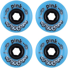 Abec 11 Powerballs - Blue - 72mm 81a - Skateboard Wheels (Set of 4)