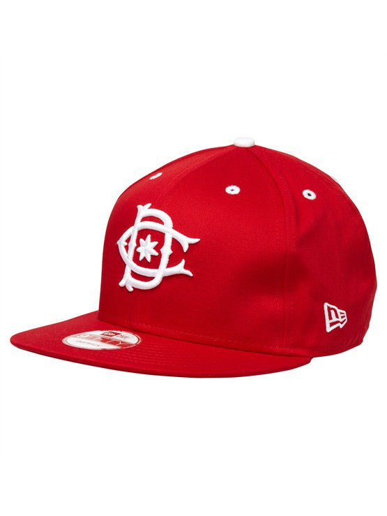 DC Rob Dyrdek Ripper Snapback Men's Hat - Red