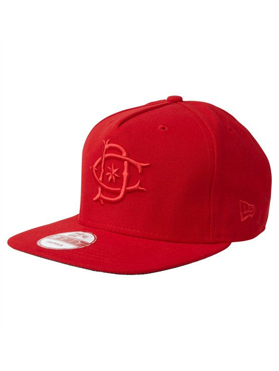 DC Tonedown Snapback Men's Hat - Athletic Red