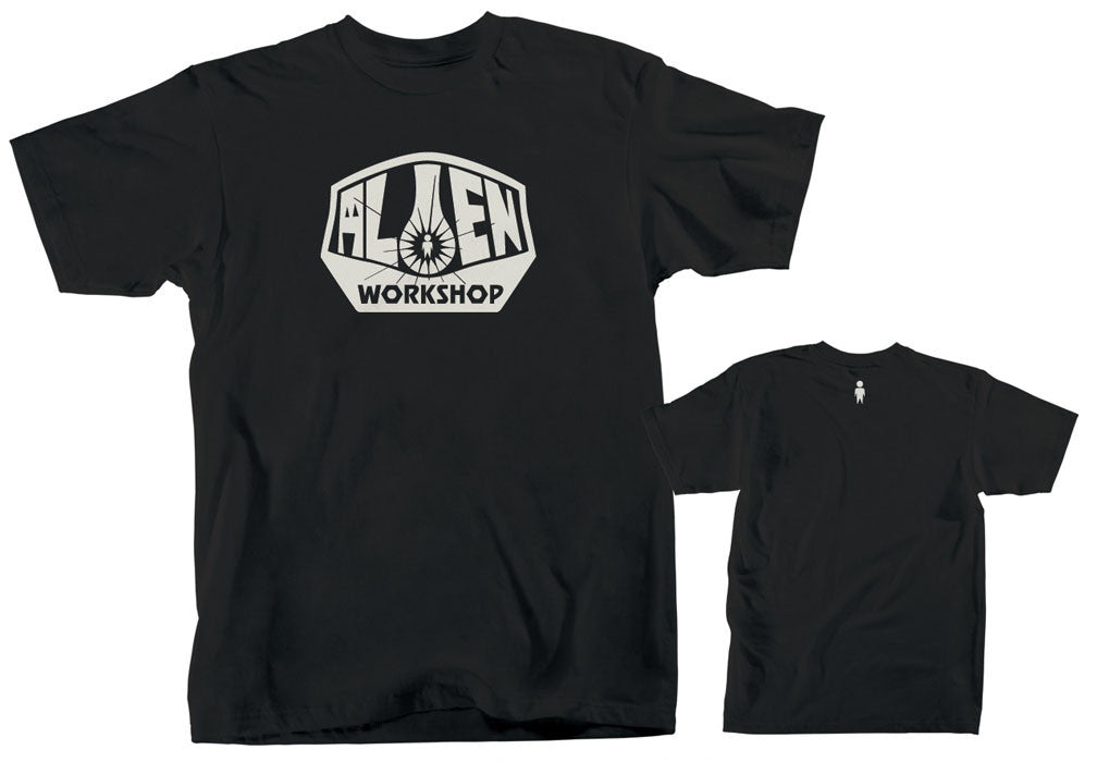 Alien Workshop OG Logo Men's T-Shirt - Black - Small