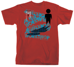 Alien Workshop Solo Shadow Men's T-Shirt - Red - Small