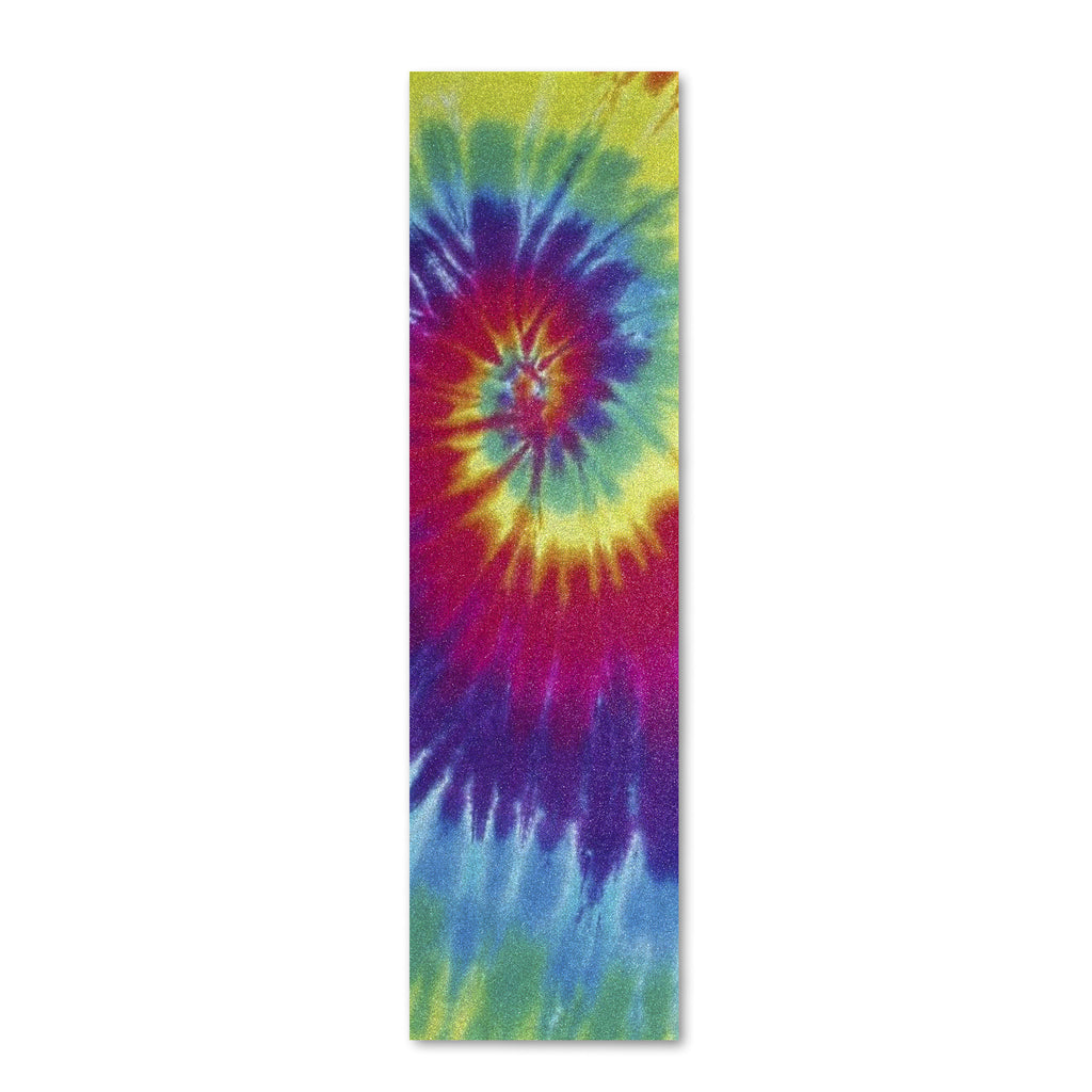 Grizzly Cut Out All Over Tie Dye 9in x 33in - Skateboard Griptape (1 Sheet)
