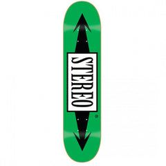 Stereo Arrow Skateboard Deck - Green - 8.125