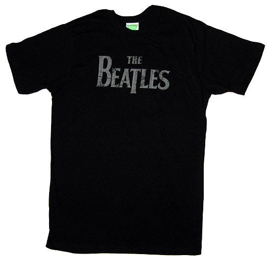 The Beatles Band Lonely Hearts T-Shirt - Black