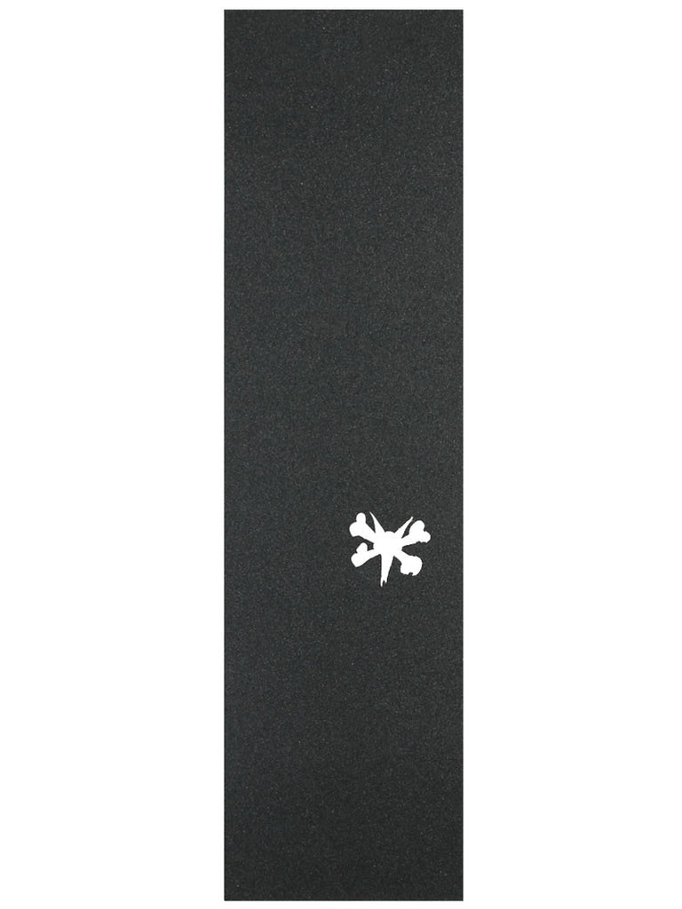 Bones Wheels Skateboard Griptape - 9in x 33in - Black (1 Sheet)