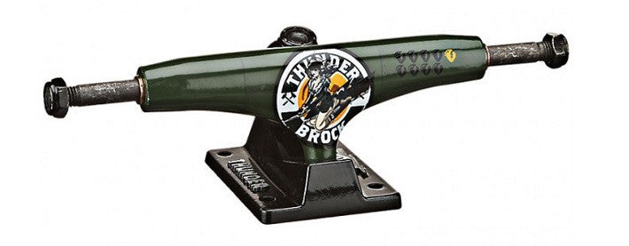 Thunder Brock Bombshell Low - Green/Black - 145mm - Skateboard Trucks (Set of 2)