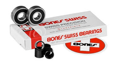 Bones Swiss Labyrinth II Skateboard Bearings (8 PC)