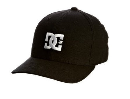DC Cap Star 2 Flex Fitted - Black - Youth Hat