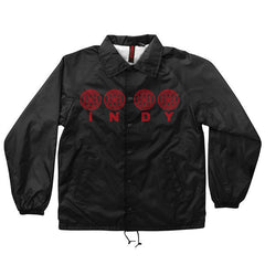 Independent Four Of A Kind Coach Windbreaker Men's Jacket - Black