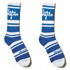 Chocolate Cities - Blue - Men's Socks (1 Pair)