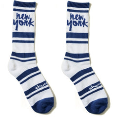 Chocolate Cities - Navy - Men's Socks (1 Pair)