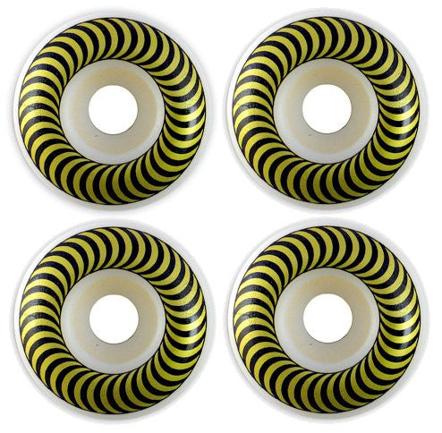 Spitfire Classic Skateboard Wheels 50mm - White (Set of 4)