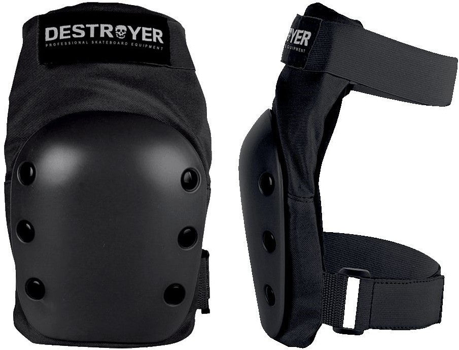 Destroyer Rec Knee Pads - Black - Small