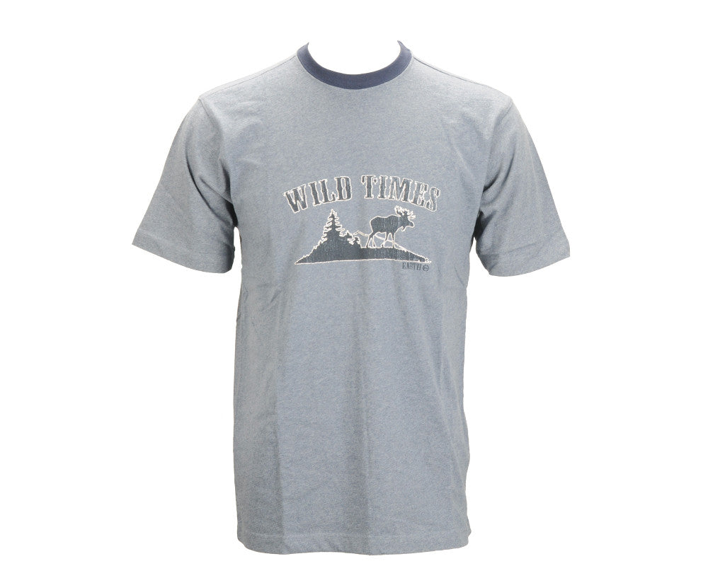 Planet Earth Wild Times - Blue T-Shirt
