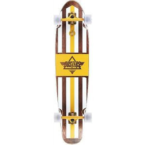 Dusters Trestle II Longboard Complete Skateboard - 42 - Brown