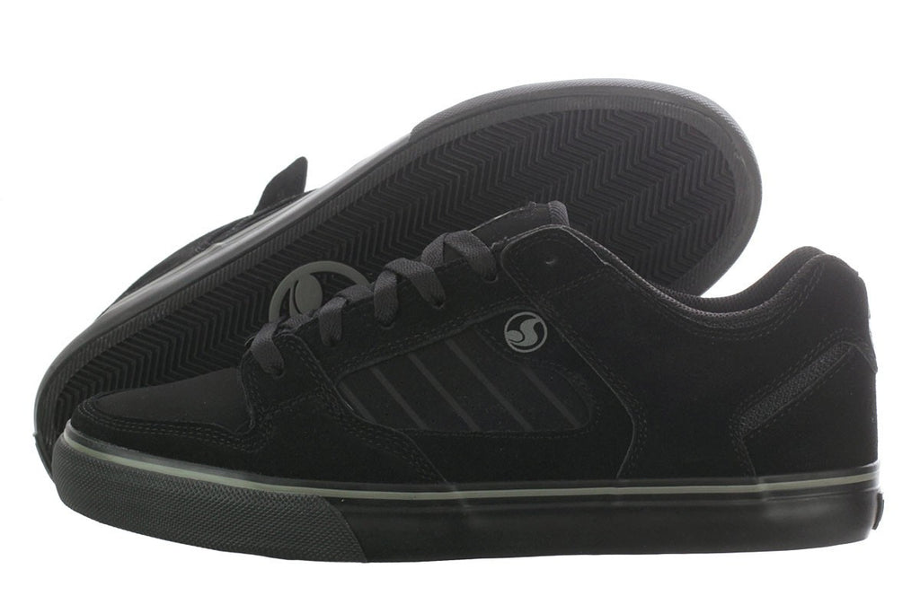 DVS Militia CT - Black/Black Suede 002 - Skateboard Shoes