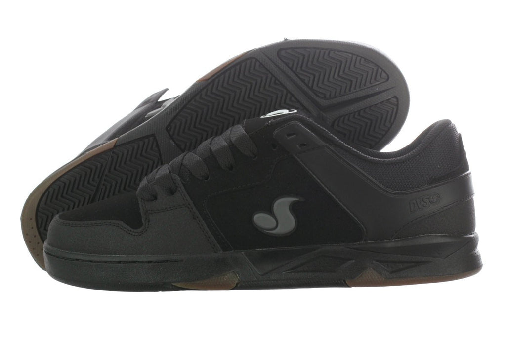DVS Argon - Black Nubuck 002 - Skateboard Shoes