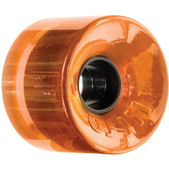 OJ Hot Juice Skateboard Wheels 60mm 78a - Translucent Orange (Set of 4)