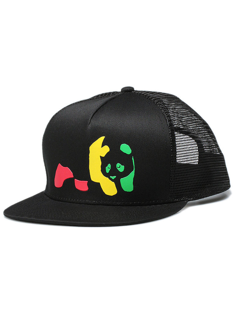 Enjoi Jamaican Me Crazy Trucker Men's Hat - Black