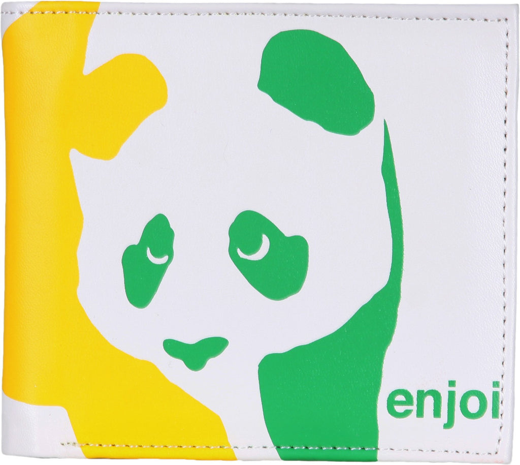 Enjoi Panda Wallet - White/Rasta
