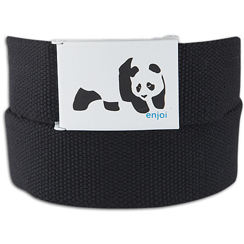 Enjoi Panda Web Belt - Black