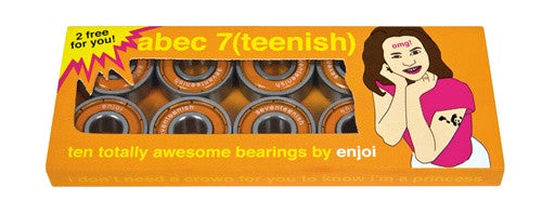 Enjoi Teenish Skateboard Bearings - Abec 7 (10 PC)