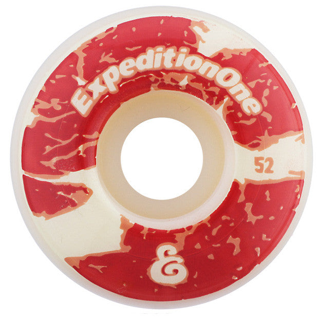 Expedition Ribeye - White - 52mm - Skateboard Wheels (Set of 4)