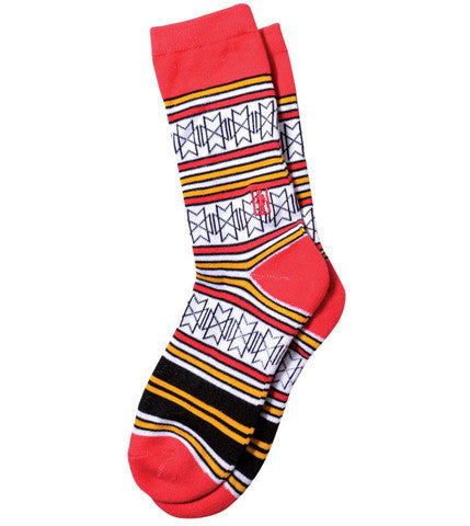 Girl Futuro - Red - Men's Socks (1 Pair)