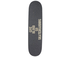 Jessup Custom Laser Cut Skateboard Griptape - Give Blood Go Skateboarding (1 Sheet)