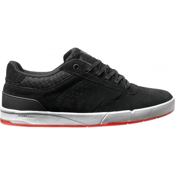 Globe The Odin S2 - Black/Red - Mens Skateboard Shoes