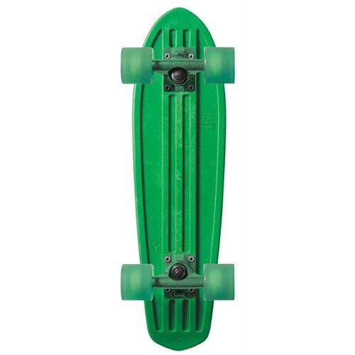 Globe Bantam Dip Sticks Mini Complete Skateboard - 7 x 24 - Green/Green/Clear Green