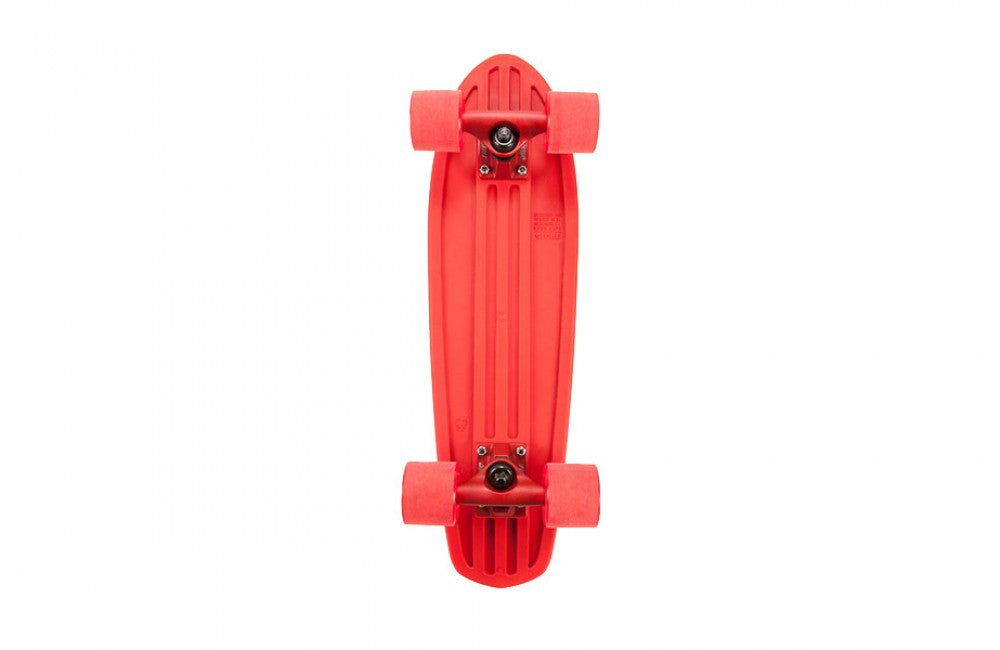 Globe Bantam Dip Sticks Mini Complete Skateboard - 7 x 24 - Red/Red/Clear Red